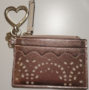 Victoria Secret Rose Gold Card Holder